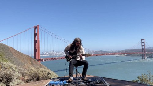 The Golden Gate Bridge is emitting a 'creepy' hum, so this musician used it as a drone in his music