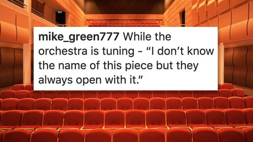Overheard at the symphony: funniest audience comments at a classical concert