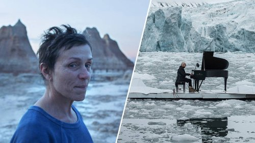 What's that meditative piano music in Oscar 'Best Picture' Nomadland?