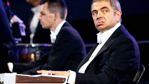 The iconic time Mr Bean played 'Chariots of Fire' with London Symphony Orchestra at the 2012 Olympics