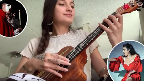 Incredible ukulele virtuoso goes viral for her mash-up of Carmen and Phantom of the Opera