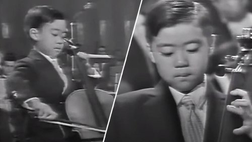 When a 7-year-old cello prodigy named Yo-Yo Ma played to the world for the first time