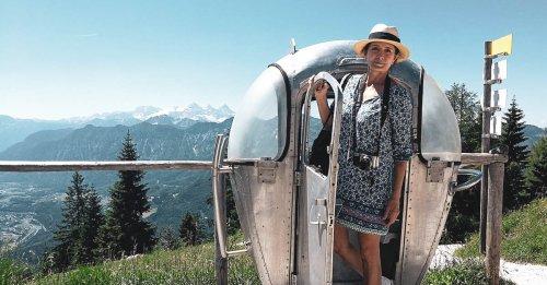 Sommerfrische in Bad Ischl, Ausflug auf die Katrin