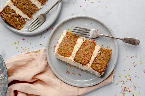 We Found the Perfect Healthy Party Cake (You're Welcome)