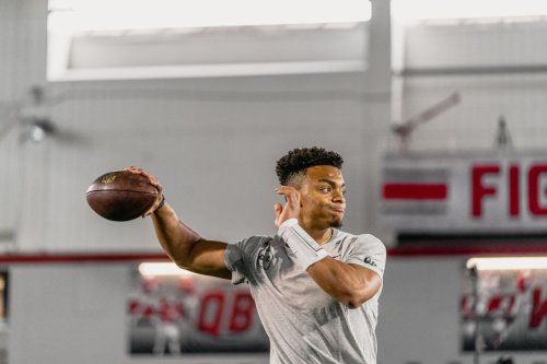 Can Justin Fields validate Ryan Day's reputation as a quarterback guru at the NFL level for Ohio State recruits?