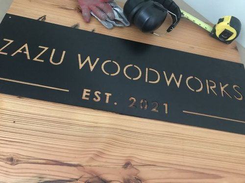 Woodworker's drastic career change pays off as he crafts restaurant tables (photos)