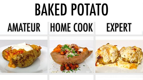 Tips to improve your homemade baked potatoes (video)