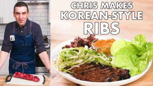 How to make Korean-style short ribs at home