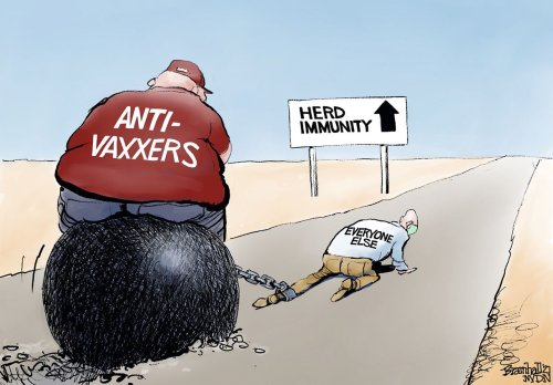 Editorial cartoons for May 9, 2021: Herd immunity, Liz Cheney, help wanted