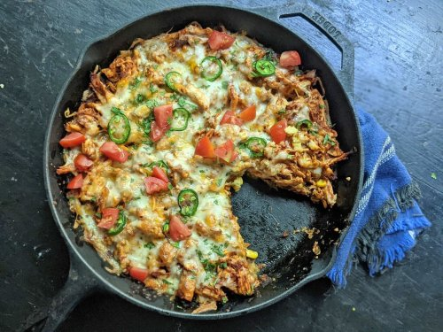 Chicken tamale casserole is Tex-Mex made easy