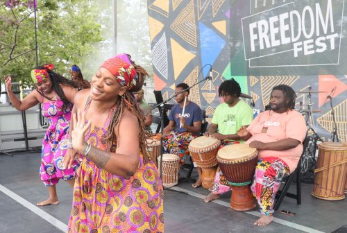 Cleveland's First Juneteenth Freedom Festival held downtown a success as attendees celebrate emancipation of enslaved people