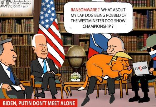 Putin Summit 'whataboutism': Darcy cartoon