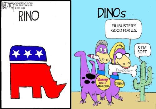 Majority of Manchin, GOP voters support HR-1: Darcy cartoons week