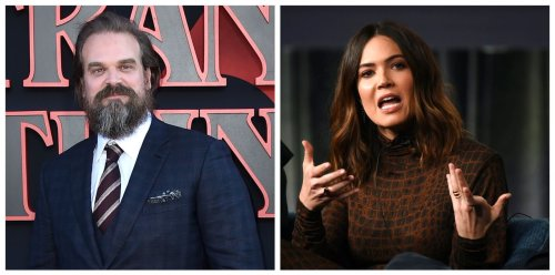 Today's famous birthdays list for April 10, 2021 includes celebrities David Harbour, Mandy Moore