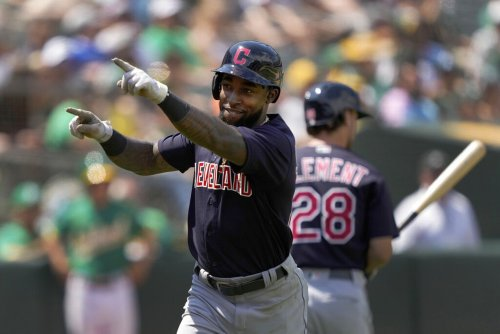 California Dreaming: Daniel Johnson, Bradley Zimmer drive Cleveland Indians to 4-2 win over A's