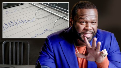 50 Cent takes a lie detector test (video)