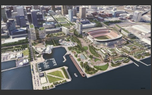 Lakefront vision proposed by the Browns could work if it enriches the city and region