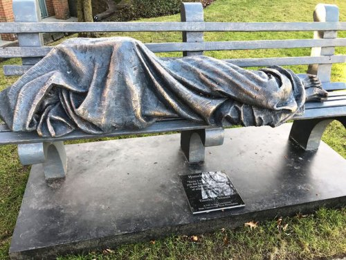 Creator of 'Homeless Jesus' has found a home in Cleveland for 5 more sculptures