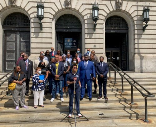 Social justice organizations express outrage over Ayesha Hardaway's forced resignation at Cleveland City Hall