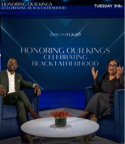 How to watch Oprah's Father's Day special with Sterling K. Brown: Channel, time, streaming, trailer