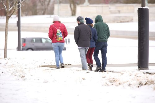 Brace yourself, Cleveland. Up to 4 inches of snow is on the way