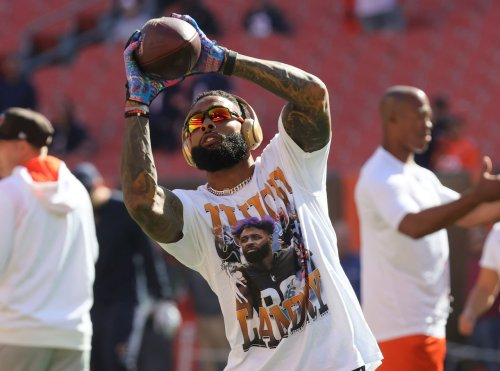 Odell Beckham Jr. proves in his amazing season debut vs. the Bears that chemistry with Baker Mayfield won't be a problem this season: Mary Kay Cabot