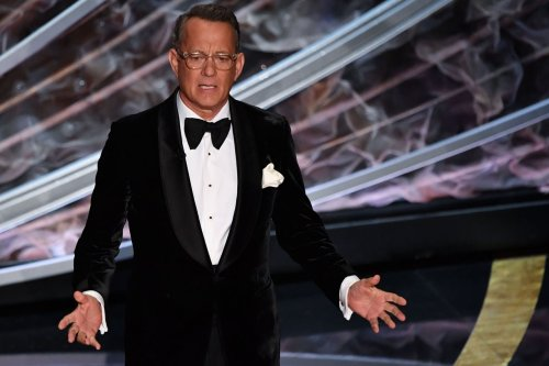 Why is Tom Hanks narrating the Cleveland Guardians announcement video?