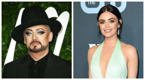 Today's famous birthdays list for June 14, 2021 includes celebrities Boy George, Lucy Hale