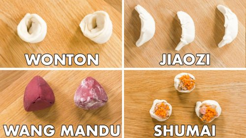How to fold every type of dumpling (video)