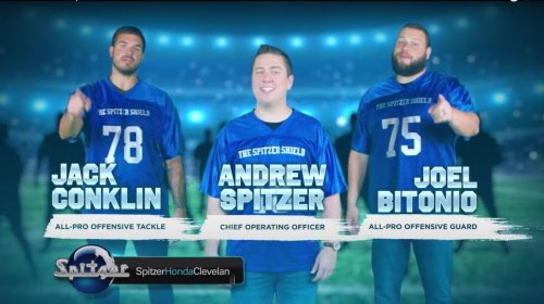 If you thought the Bears' 1985 Super Bowl Shuffle was hilarious, wait until you see Joel Bitonio and Jack Conklin's new commercial