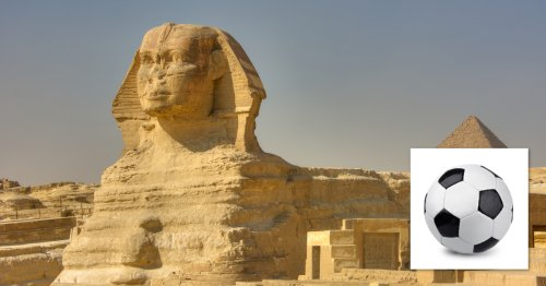 Not So Impressive Anymore: Archeologists Have Discovered That The Sphinx Was Supposed To Be A Soccer Ball