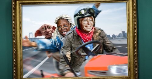 A Piece Of History: The Riding Mower That Whoopi Goldberg, John Denver, and Dobby Used To Escape New York After The 9/11 Attacks Is Coming To The Smithsonian