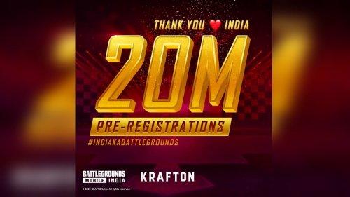 PUBG Mobile India Avatar Battlegrounds Pre-Registrations Surpass 20 Million, Still No Release Date