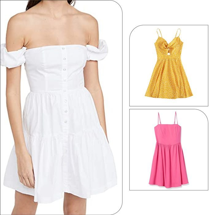 I Can't Stop Thinking About Cute Minidresses so I Just Treated Myself to These 7
