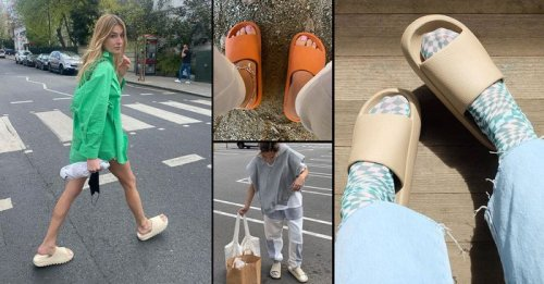 """Recovery Slides Are the Next """"Ugly"""" Shoe Trend We Can No Longer Ignore"""
