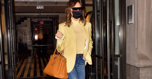 VB Has Been Wearing These Anti-Skinny Jeans All Week