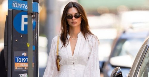 EmRata Wore the $65 Sneakers That Look Good With Every Summer Dress