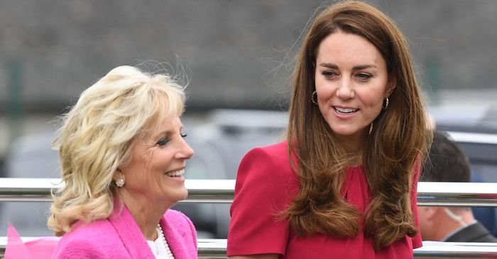 Jill Biden and Kate Middleton Wore the Same Classic Shoes to Their First Meeting