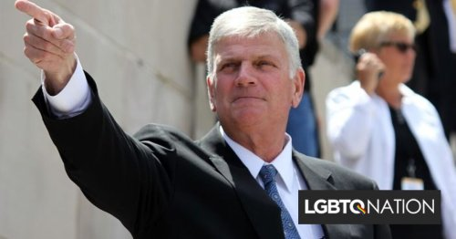 Seattle Police humiliate Franklin Graham for his years of anti-LGBTQ actions