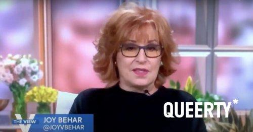 Nobody is more outraged by Joy Behar's homophobic joke than homophobic Republicans