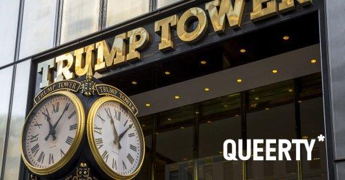 Trump Tower appears to be headed toward a similar fate as Trump's failing D.C. hotel