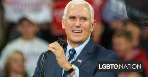 """Mike Pence's speech at Christian conference drowned out with chants of """"Traitor!"""""""