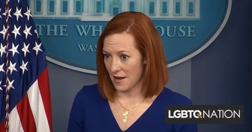 """Jen Psaki claps back at evangelical reporter whining about Biden's lack of """"unity"""""""