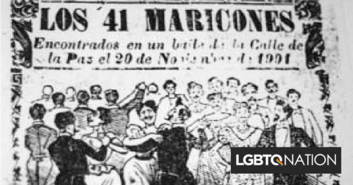 How the number 41 became an anti-gay slur in Mexico