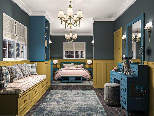 COUNTRY STYLE BEDROOM | Interior Designio