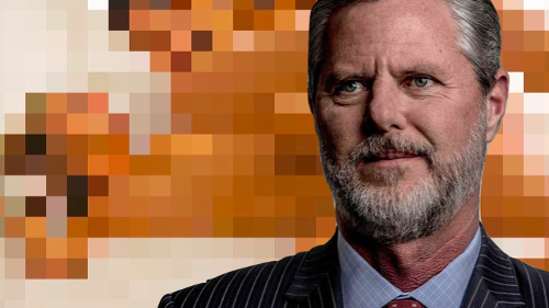 """Apparently Jerry Falwell Jr.'s pool boy has a """"cache of compromising photos"""" he's willing to leak"""