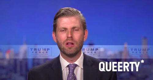 Eric Trump is sure acting like a guy who just figured out he's in deep trouble