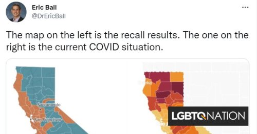 Two stunning maps show how rightwing politics & COVID-19 are intertwined