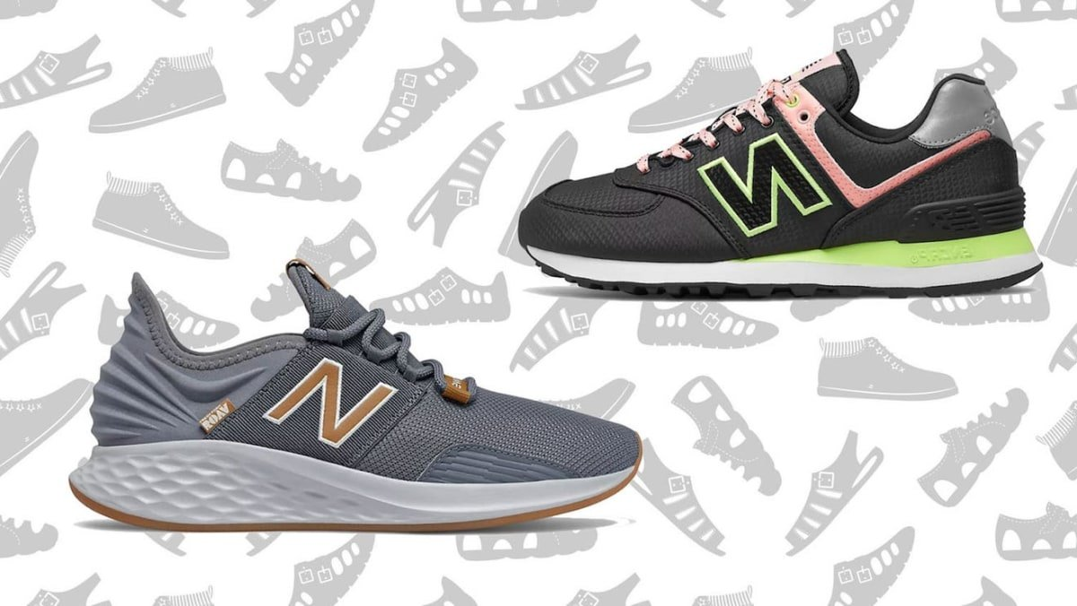 New Balance sneakers are at a big discount for the store's semi-annual sale