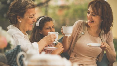 A garden tea party makes the perfect gift for Mother's Day—here's how to do it